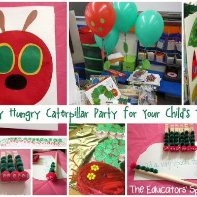 A Very Hungry Caterpillar Teacher Appreciation Party