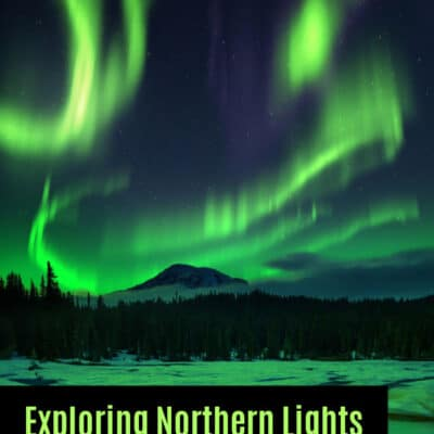Exploring Northern Lights with Kids through Art and Music
