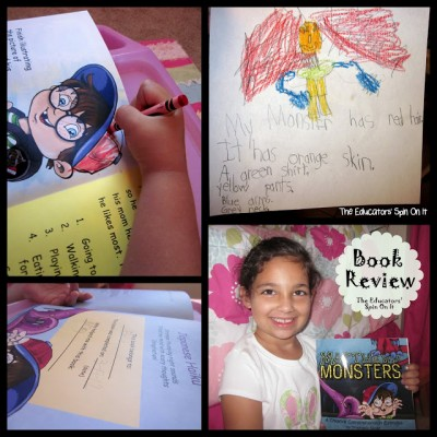 Monster Activity Ideas & Book Review