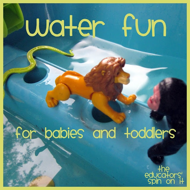 Water Fun for Babies and Toddlers