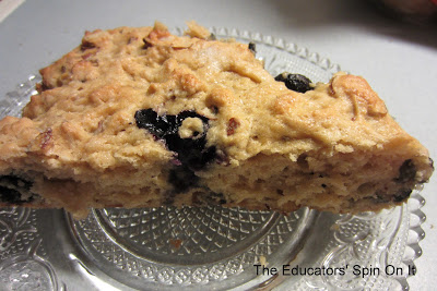 Blueberry Scones I The Educators' Spin On It