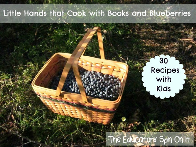 blueberries with kids
