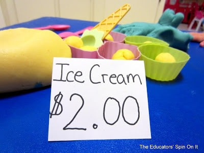 Tot school – Ice Cream King Playdate!