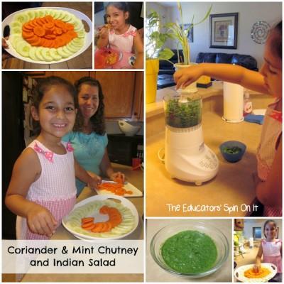 Making Samosas and Chutney with Kids