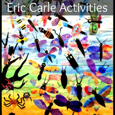 100+ Eric Carle Activities and Crafts for Kids!