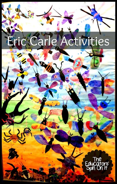Eric Carle inspired Bug Art projects
