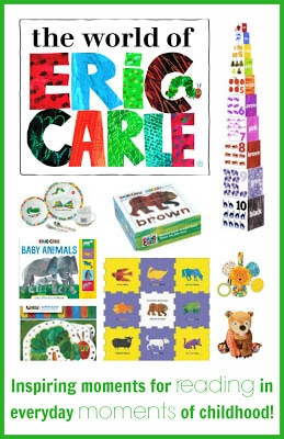 The World of Eric Carle Top Products for Kids