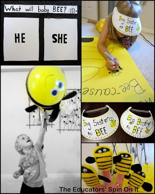 Gender Reveal Party – What's It Going To Bee Themed