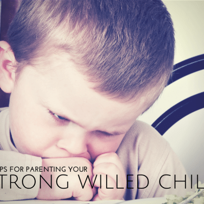 8 Tips for Raising a Strong Willed Child