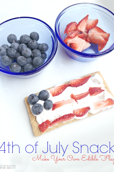 4th of July Snack for Kids with Fruit