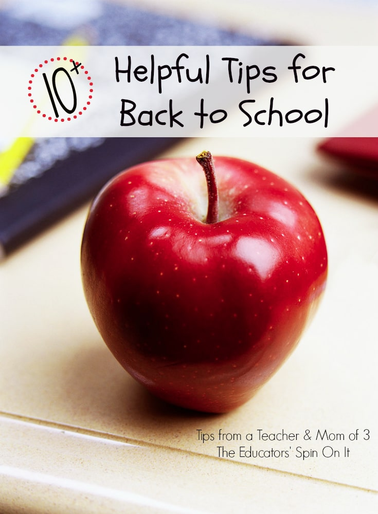 10 Helpful Tips for Back to School