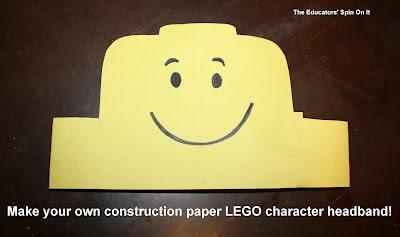 DIY LEGO headband