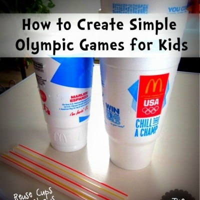 Olympic Fun with Cups