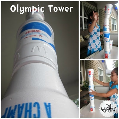 Olympic Activities for Kids with Cups