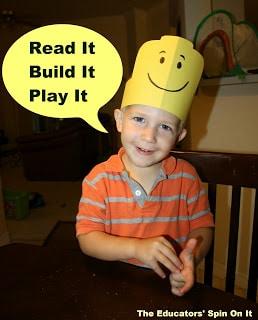 Preschool Writing Activities Inspired by LEGO DUPLO