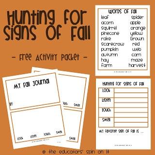 Printable Fall Journal For Kids