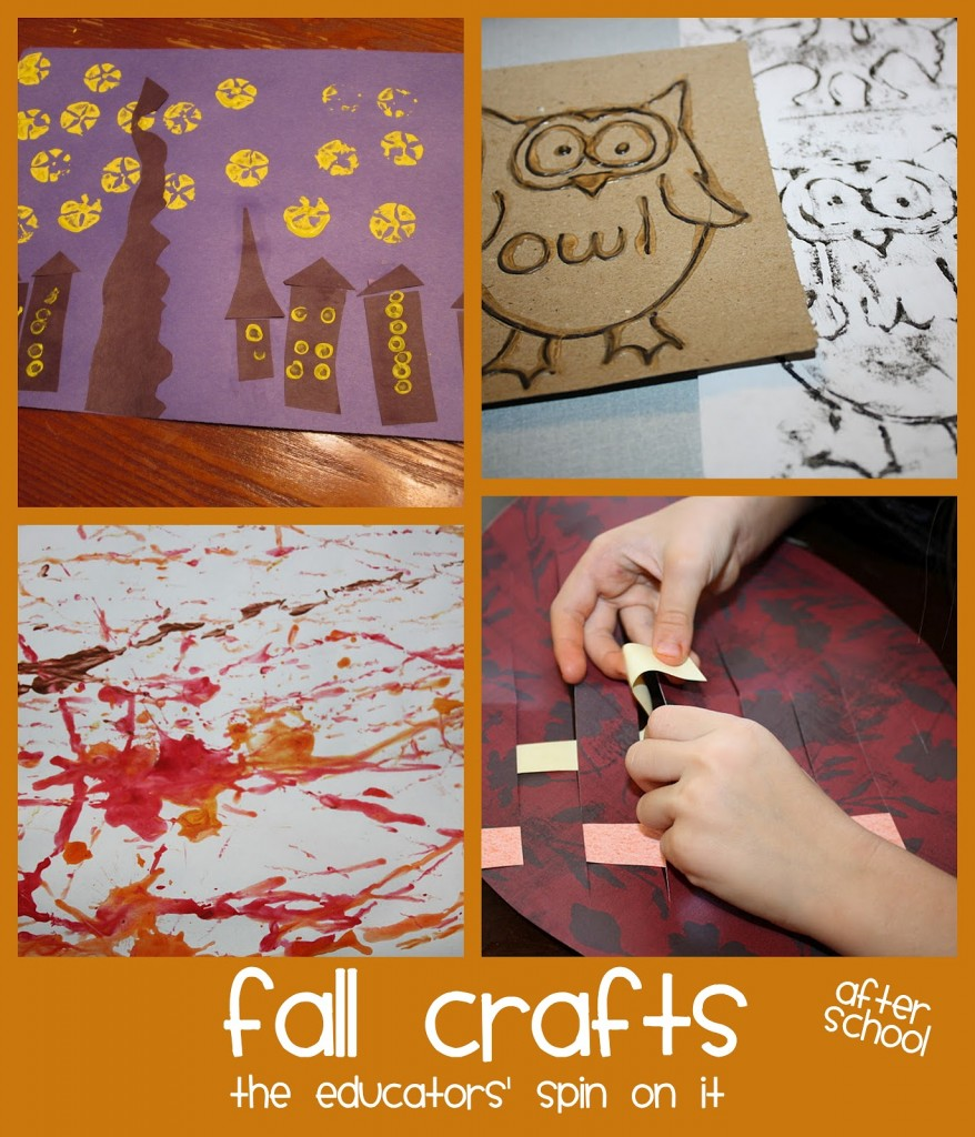 fall crafts for after school