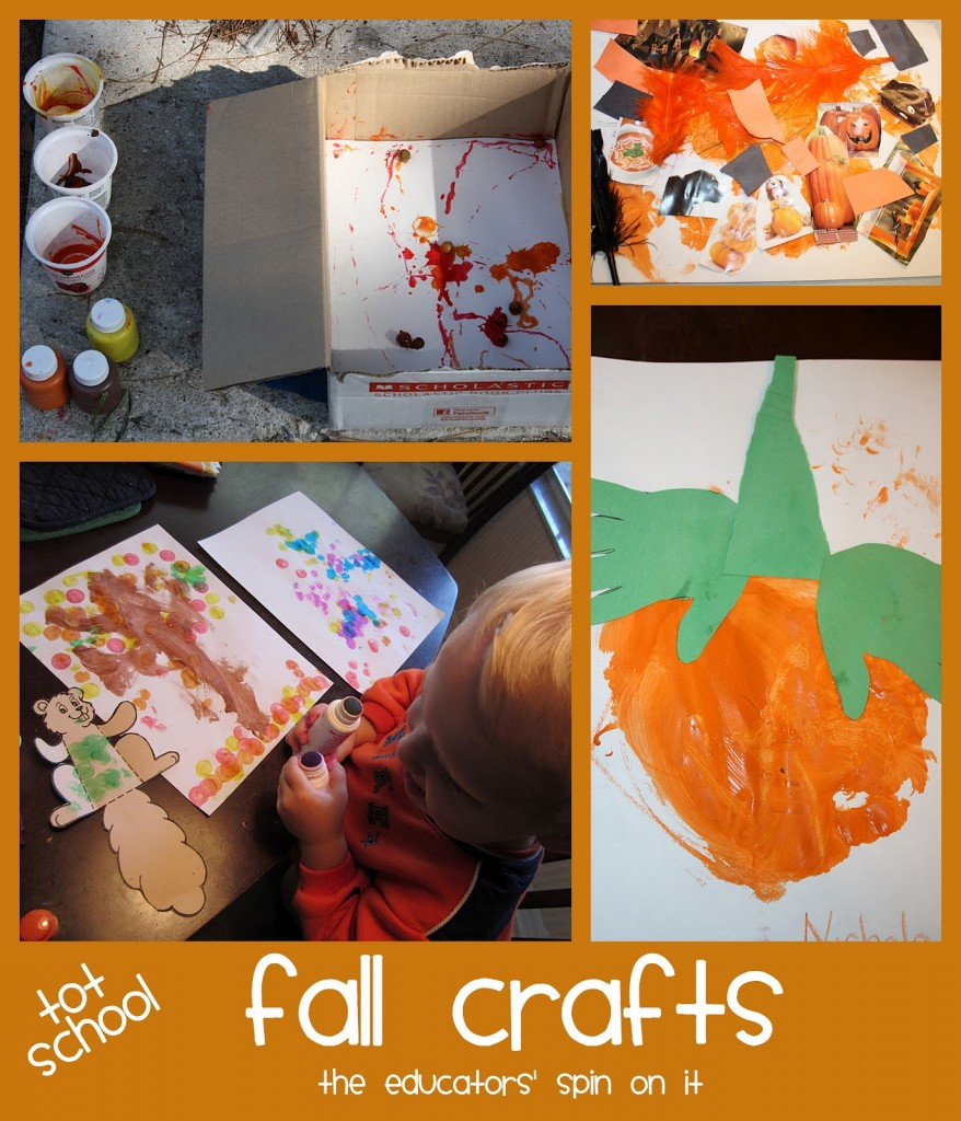 fall crafts for toddlers and preschoolers