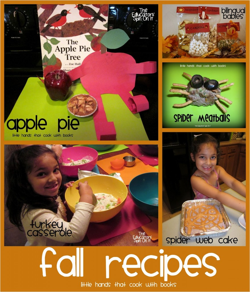fall recipes for kids to make