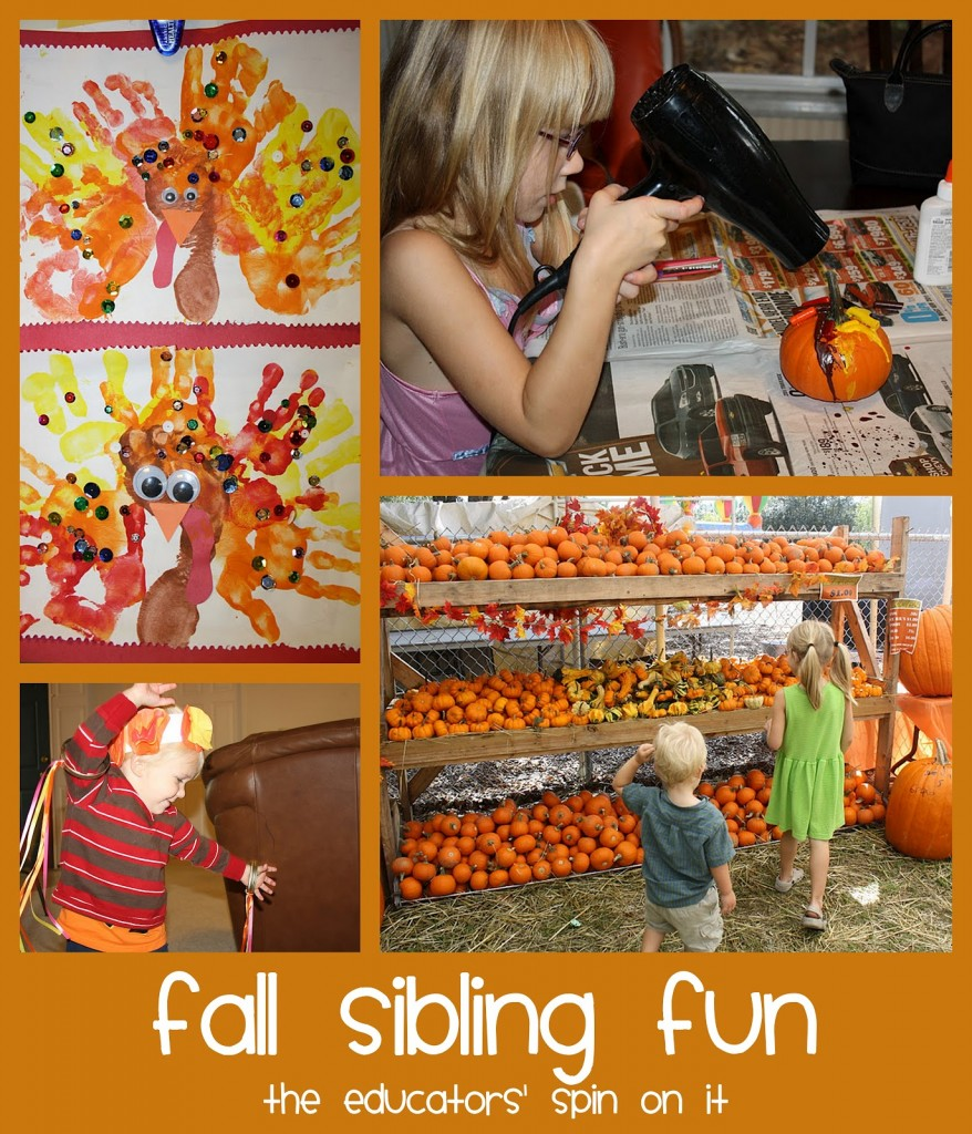 fall activities for siblings
