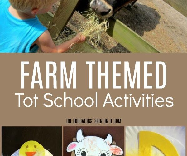 Farm Themed Tot School Activities
