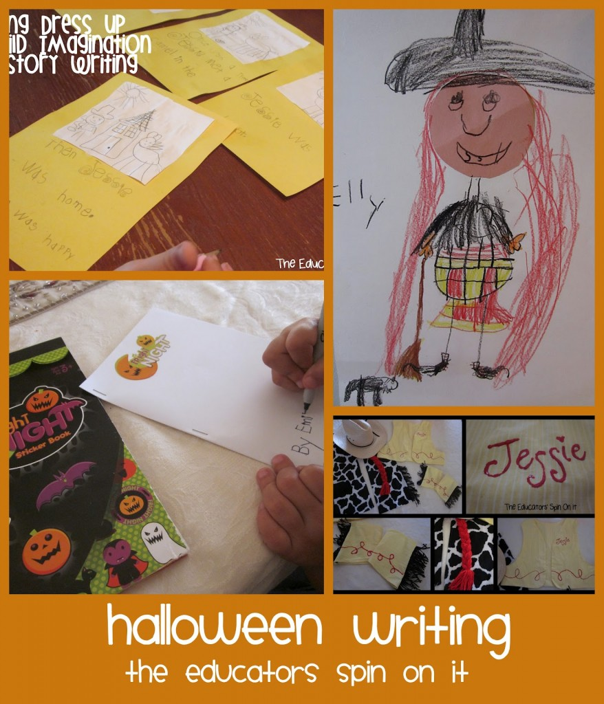 Halloween writing for kids