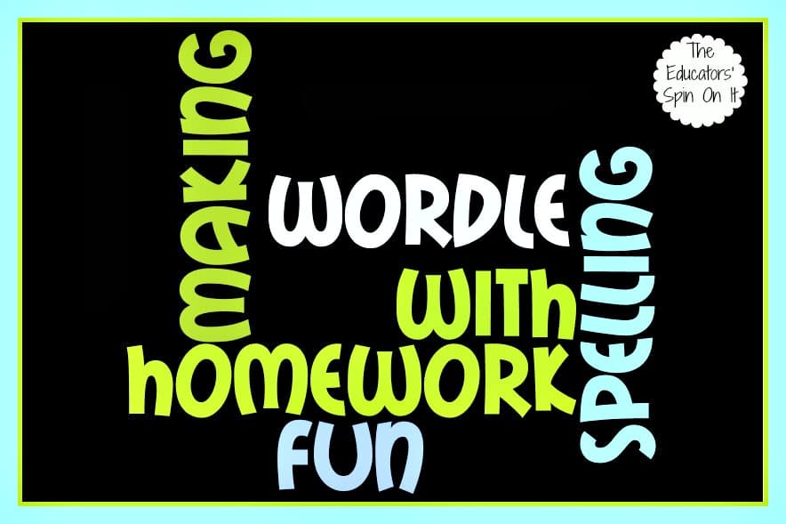 Using Wordle for Spelling Homework: After School Express - The