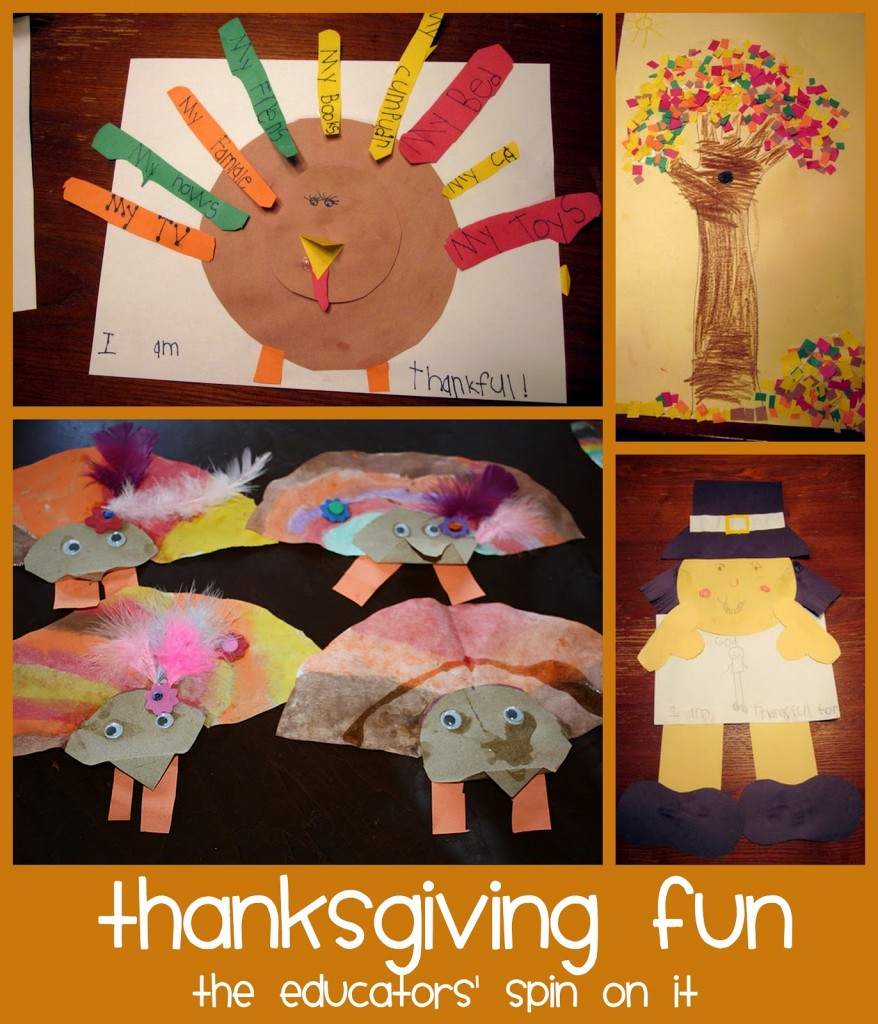 Thanksgiving activities and fun for kids