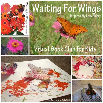 Waiting For Wings {Lois Ehlert Virtual Book Club}