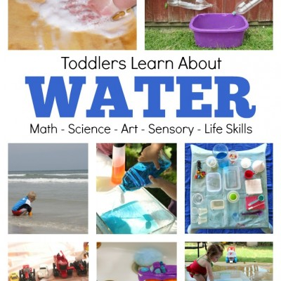 Water Lesson Plan for Toddlers
