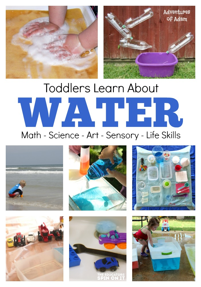water lesson plan for toddlers art science math sensory life skills - Pictures For Toddlers