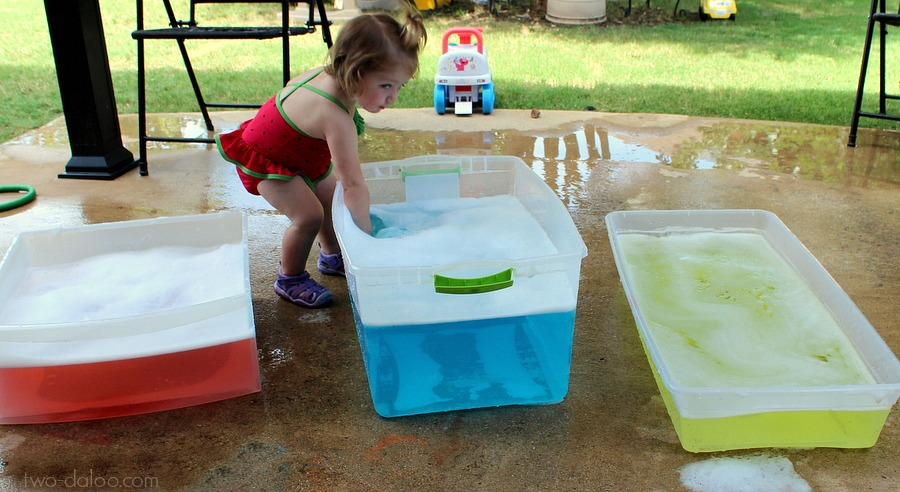 Water Lesson Plan for Toddlers - The Educators\' Spin On It