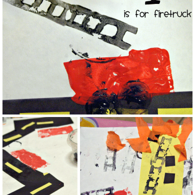 Fire Safety Week Art Project