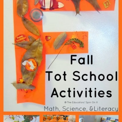 Fall Activities for Toddlers: (Tot School 22 months & 35 months)