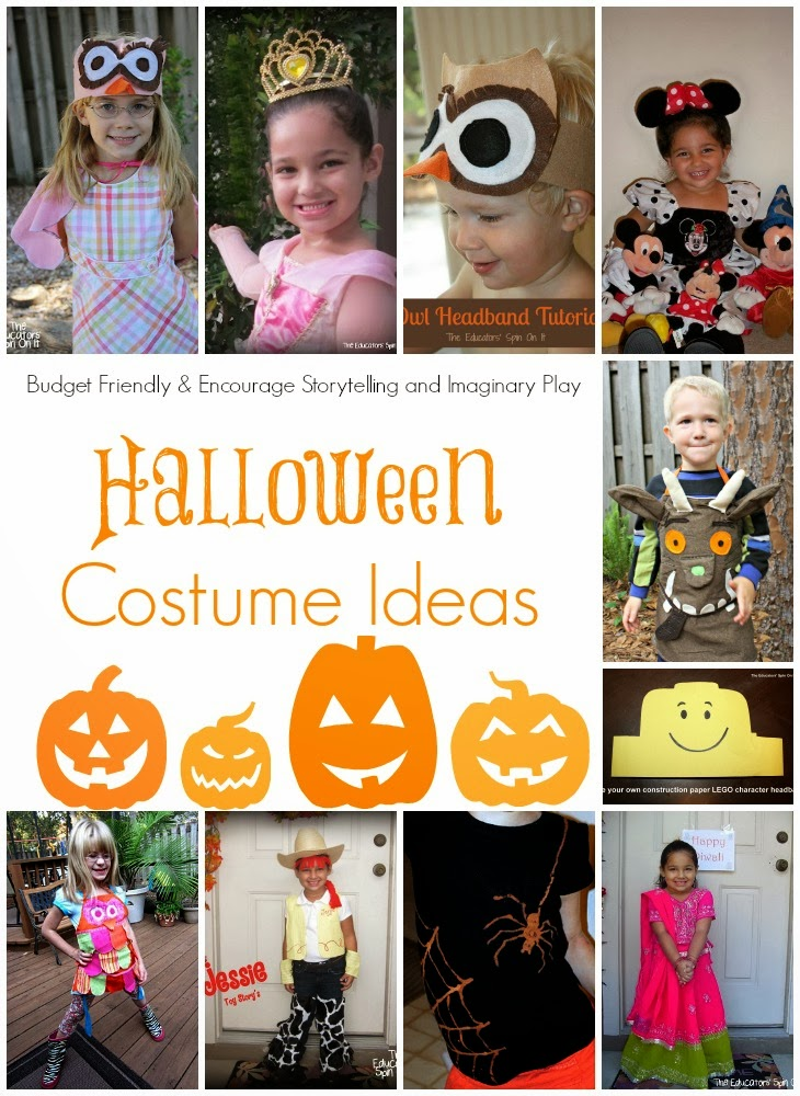 Handmade halloween costume ideas for kids the educators for Unique childrens halloween costume ideas