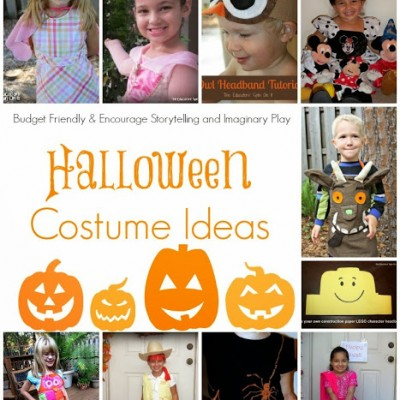 Handmade Halloween Costume Ideas for Kids