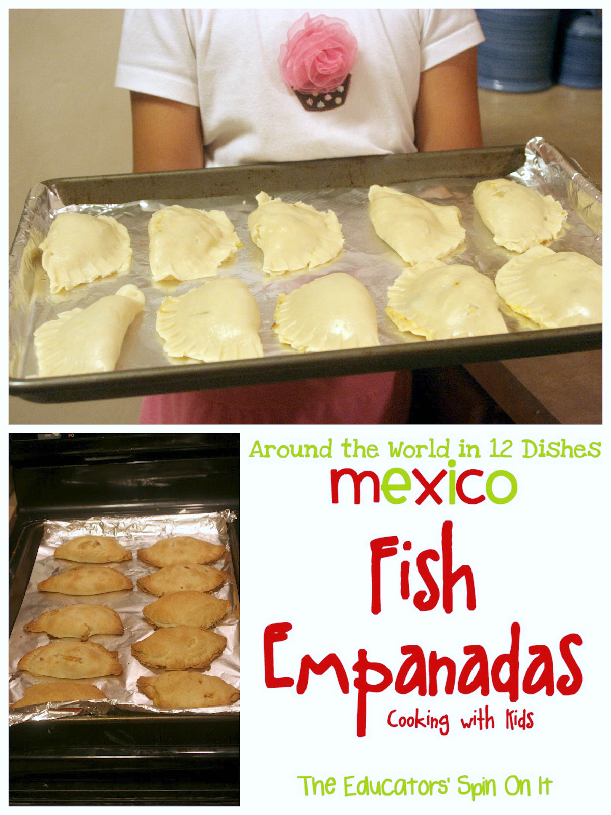 Making Fish Empanadas with Kids