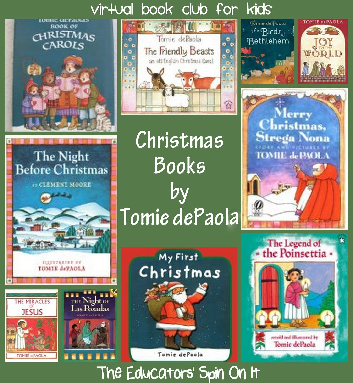 15 Best author tomie depaola images | School videos ...