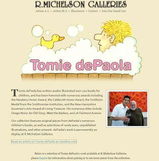 Tomie Depaola Author Study The Educators Spin On It