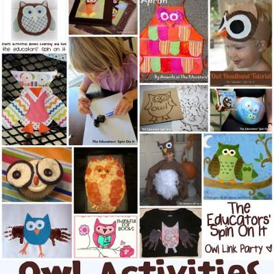 Owl Crafts & Activities