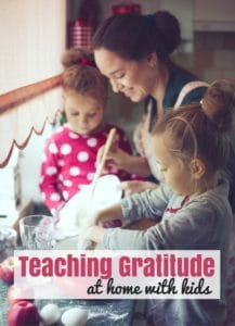 Teaching Gratitude at Home with Kids
