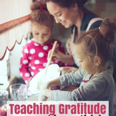 Teaching Gratitude in our Home with Kids