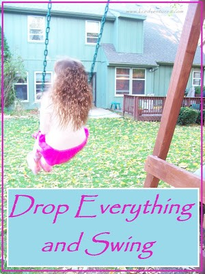 Drop Everything and Swing: Snapshot of Parenting with Purpose