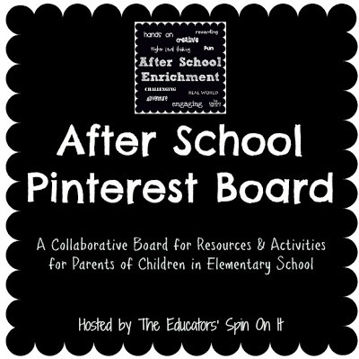 Our After School Pinterest Board is Growing!