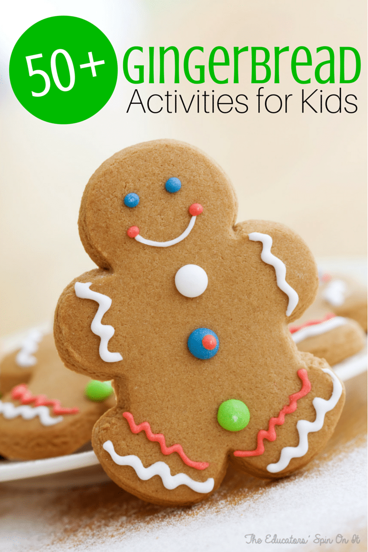 discover gingerbread crafts recipes reading writing math and more ...