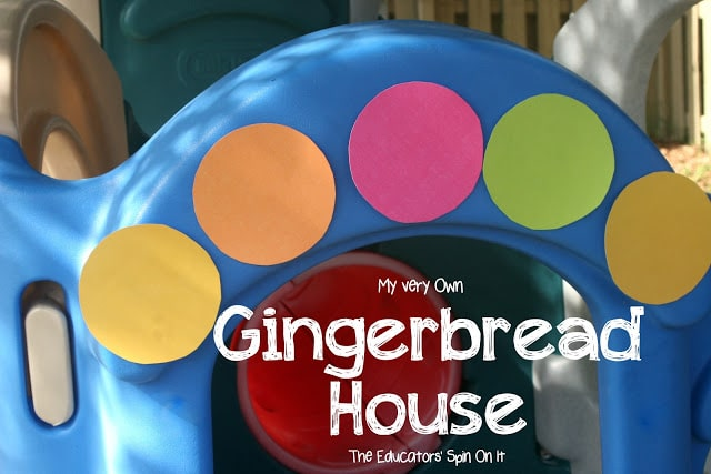Life Size Gingerbread House for Kids for  Holiday Play