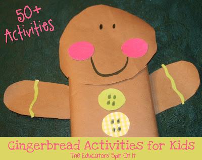 50+ Gingerbread Activities for Kids
