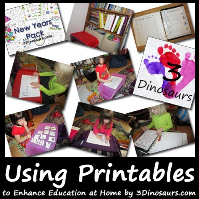 Using Printables to Enhance Education at Home: Snapshot of Parenting with Purpose