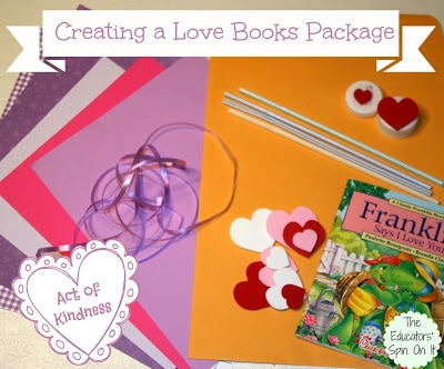 Love Books Package Ideas for Random Acts of Kindness