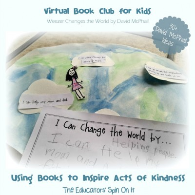 David McPhail Inspired Activities {Virtual Book Club for Kids Blog Hop}